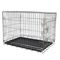 Wholesale xxl big folding heavy duty strong metal dog crates MHD005