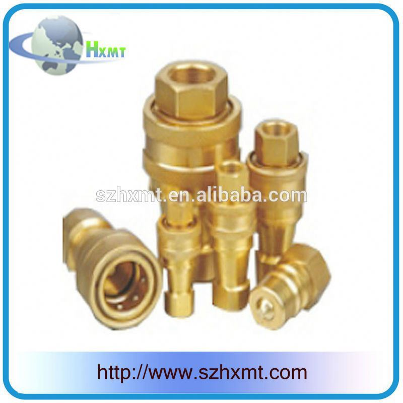 Shut-off valves brass hydraulic quick coupling