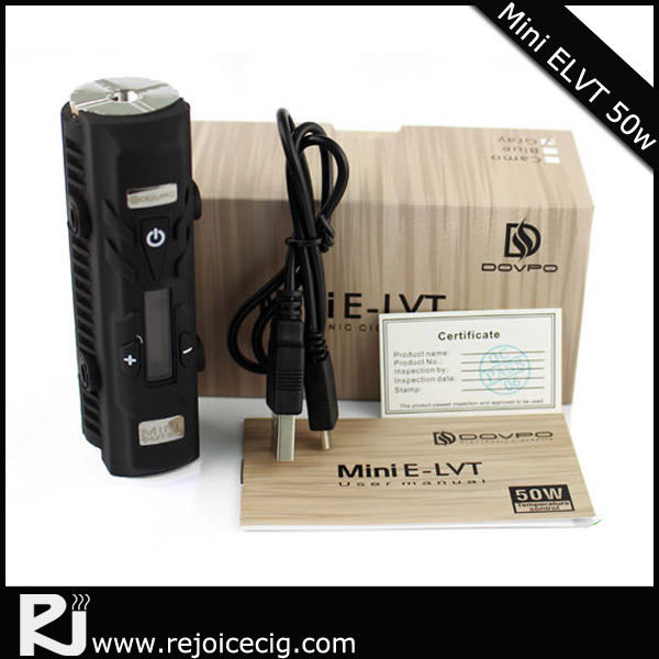 Rejoice mini elvt 50w japan electronics storevapor mod smoke electronic