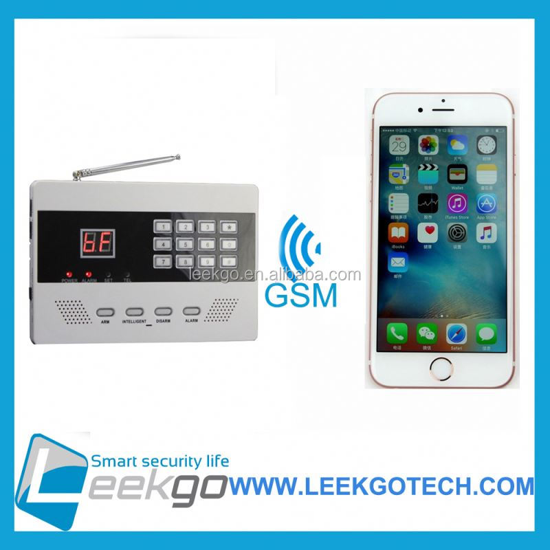 LEEKGO Best Selling PSTN anka home burglar wireless gsm alarm supplier