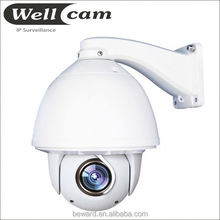 720P 1.0 Megapixel low lux ip ptz auto tracking surveillance camera shockproof day/night