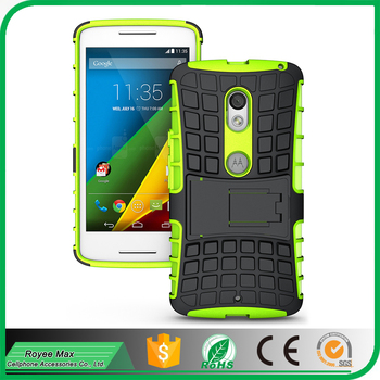 Shockproof TPU+PC Hybrid Armor cell phone accessory for motorola x play case cover alibaba trade assuarance