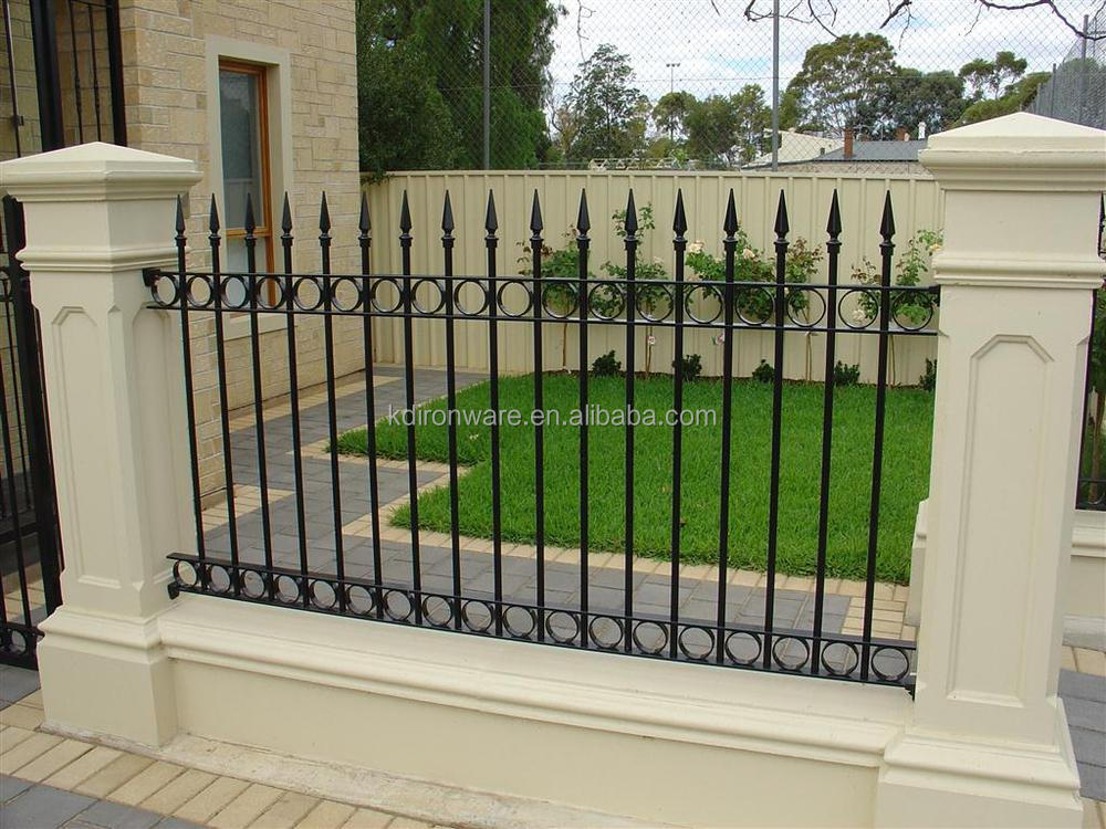 Cheap ornamental wrought iron fence buy