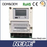 REHE Prepaid Energy Meter,Electric Energy Kwh Power With Digital LED LCD Display