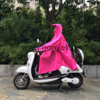 Bicycle Wholesale 2017 new popular polyester waterproof raincoat pvc poncho with sleeves