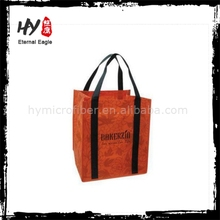Manufacturing custom non woven shopping bag, cheap printed shopping bags, custom non-woven bag