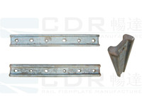 TR68 rail joint bar