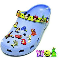 3D Animal Shoes Decoration Soft Pvc