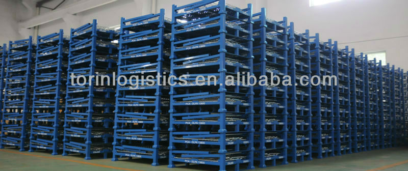 Collapsible wire mesh container SWK9011-B (L800*W600 mm)