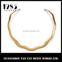 2015 wholesale fashion brass neck wires