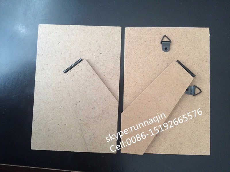 Factory made photo picture frame backs easel stand support for photo frame accessories 10x15 13x18 18x24 20x30 24x30