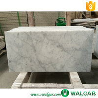 Polish Carrara White Marble tile for walling and flooring