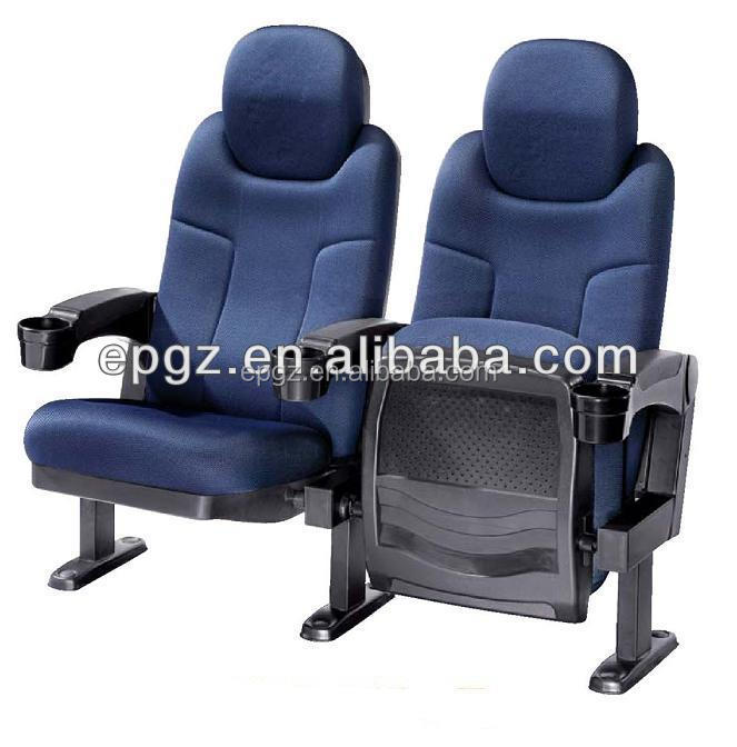 Luxury Couple Auditorium Chair for VIP Movie Cinema Chair/Lover Theater Seats