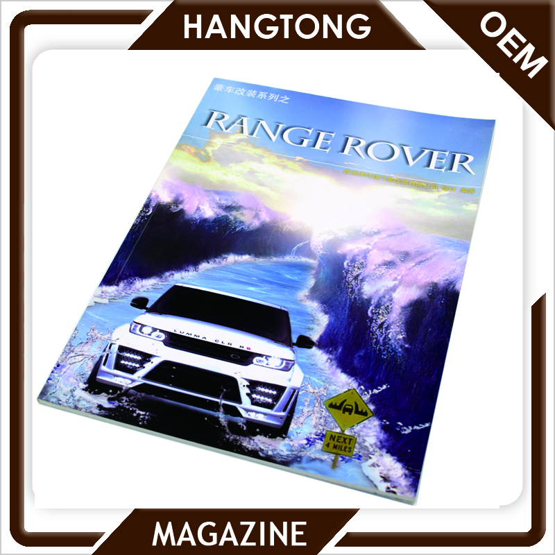 high quality ls land magazine, china famous printing manufacturer