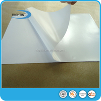 hot melt mirror self adhesive paper for bottle label