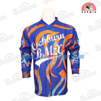 Wholesale High Quality Custom Long Sleeve Downhill Free Ride BMX Jersey