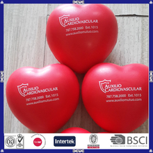 prmotional price heart shaped anti stress ball