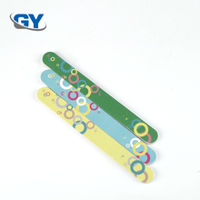 Best quality promotional disposable nail file colorful mini nail buffer