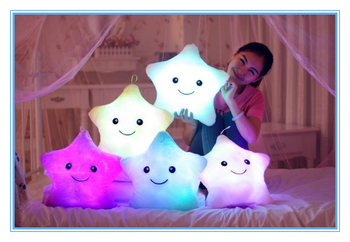 Valentine's Day Gift Led Light Pillow Colorful Shining Good Quality Light Up Pillow