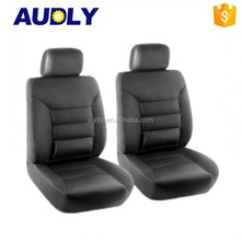 Full Set PVC Leather Car Seat Cover in Black