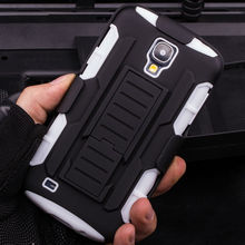 Future Armor Impact Skin Holster Protector Case For Samsung Galaxy S4 I9500 Case Cover With Belt Clip