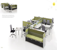 China manufacturer L shape executive desk office furniture