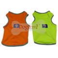 Air Meash Breathable Dog Vest High Visivable Neon Color Dog Apparel Puppy Cloth