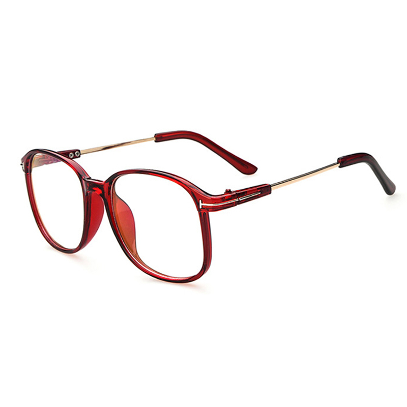 Vintage Retro Round Glasses Frame For Women Nerd Eyeglasses Frames ...