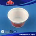 Manufacturer Top Quality New Design Promotional plastic sorbet ice cream cup