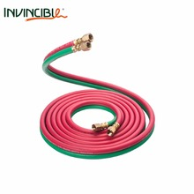 "RUBBER SINGLE/TWIN WELDING HOSE 1/4"" I.D,B.P 900PSI"