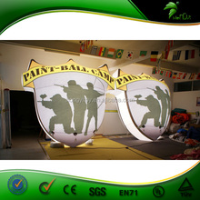 Wholesale LED Lighting Inflatabel Advertising Billboard /Inflatable Promotion Balloon