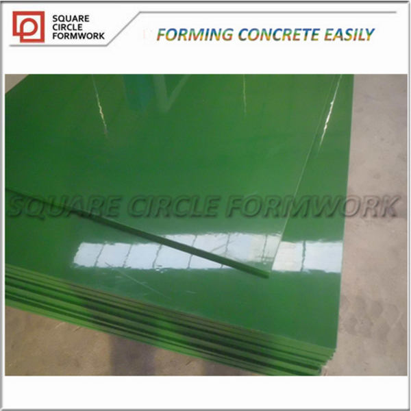 Plastic Film Faced Plywood Prices Poplar Core/Hardwood Core Plastic Film Faced Glued Laminated Timber
