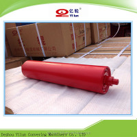 DT 75 Standard orange color steel roller, idler,