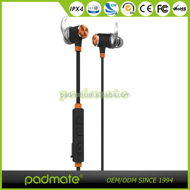 Bluetooth 4.1 Stereo Magnetic Earphones, Secure Fit for Sport, Gym