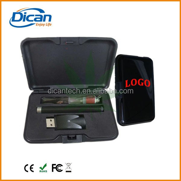DICAN ego cbd cartridge vape pen 510 thread button battery 1ml hemp oil atomizer pen e cigarette