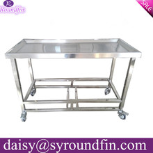 Widely choices for customize corpse cart mortuary trolley hospital trolley for sale