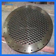 Factory Produce ASTM B381 Gr.2 DN1000 DN12000 Forged Titanium Pipe Plate Flange For Heat Exchanger