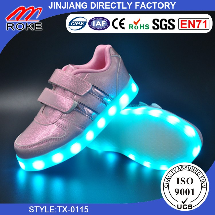 New Style Casual Shoes With LED Light Flash