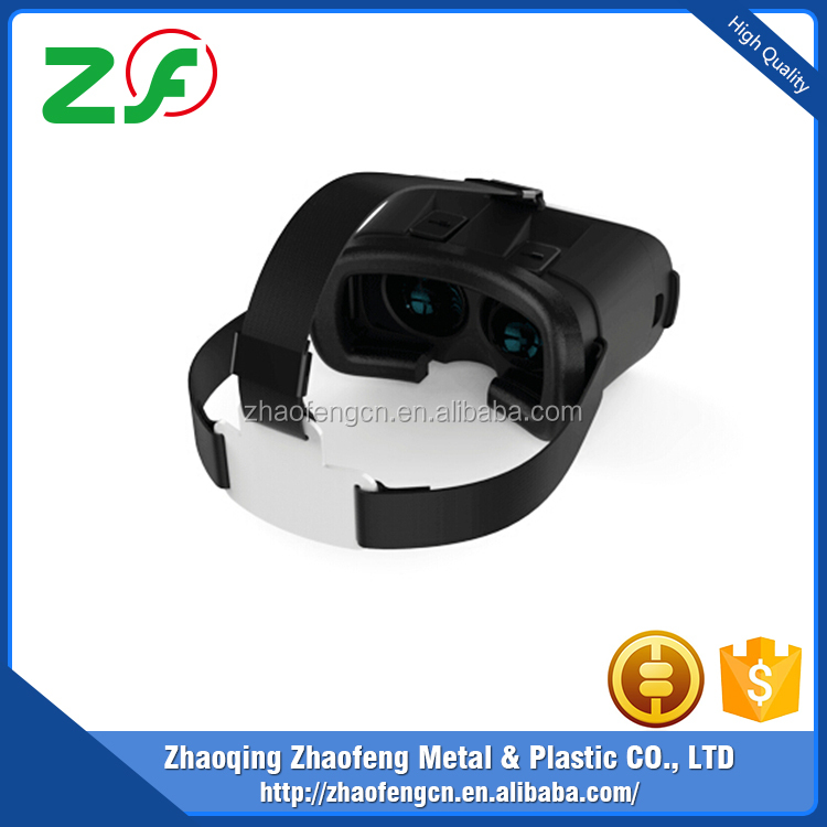 New Funny Headset 3D cinema Virtual Reality clip on active 3d glasses