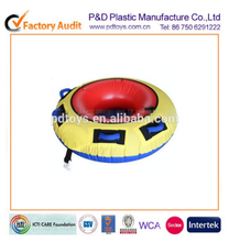 ICTI PVC inflatable water ski tube with nylon cloth cover