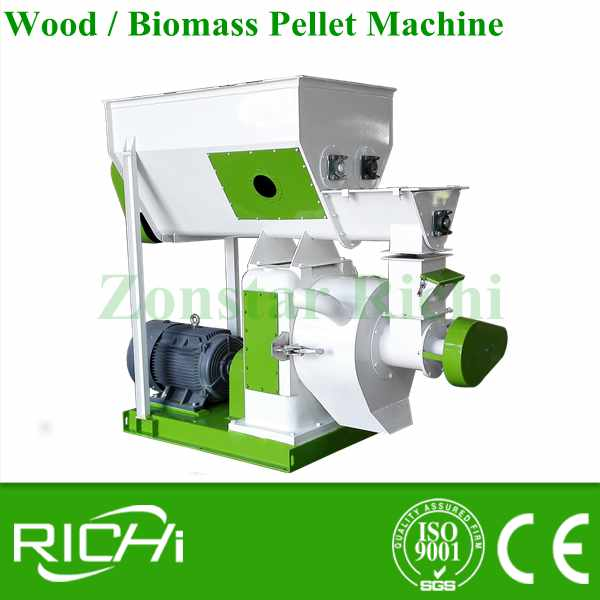 Large capacity 8mm sawdust pellet making machine/wood pellet mill