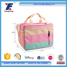 Car Seat Polyester Portable Insulated Cooler Bag