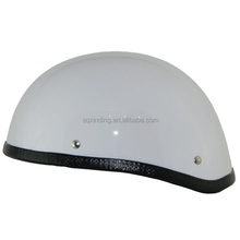 Unique Mini Motorcycle Helmets With White Color