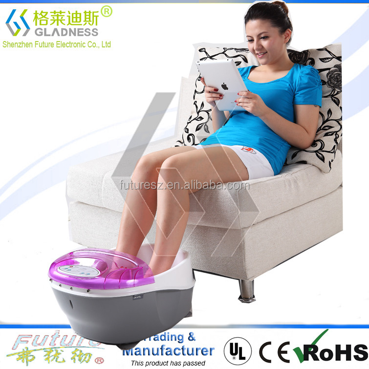 PROFESSIONAL DUAL LCD IONIC CELL DETOX FOOT CLEANSE BATH SPA MACHINE + CASE