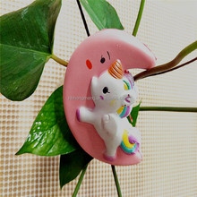 OEM New Design slow rising squishy Unicorns on the moon toys