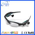 Fashion sport camera mp3 function smart bluetooth sunglass