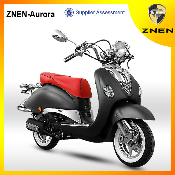 ZNEN MOTOR --C AURORA (EEC, EPA, DOT)Unique Gas Scooter(NEW)