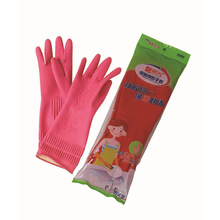 rubber hand gloves wash glove cotton lined rubber gloves