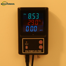2019 Newest High Quality Low Prices Wall Mount Design Continuous PH TEMP EC TDS Bluetooth Water Quality <strong>Meter</strong>