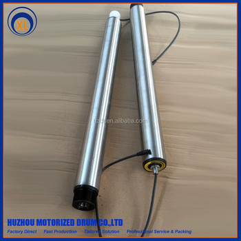 Small MOQ available motorized electric roller made in China with more than 30 years experience